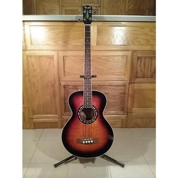 Custom Fender T-Bucket acoustic/electric bass guitar  3 Color Sunburst
