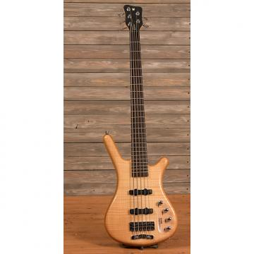 Custom Warwick Rockbass Corvette Premium 5-String Natural Gloss