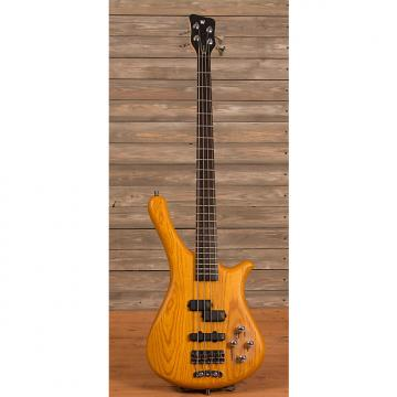 Custom Warwick Rockbass Fortress 4-String Honey Satin