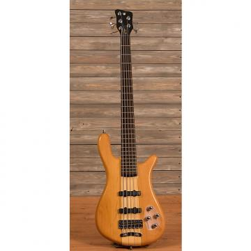 Custom Warwick Rockbass Streamer NT 5-String Natural Gloss