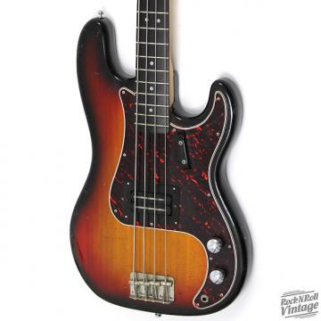 Custom 1970's Univox P-Bass Copy Sunburst