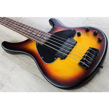 Custom Sandberg Basic 5 5-String Bass, Rosewood Fretboard, Gig Bag - Matte 3-Tone Sunburst