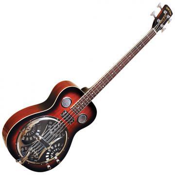 Custom Gold Tone PBB Resonator Bass Guitar w/ Hard Case