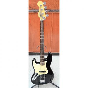 Custom Fender Jazz Bass 4 String Bass Guitar 2003-2004 Black LEFT HANDED