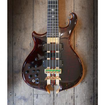 Custom Alembic Omega Cut 5 String Bass 1990's Natural