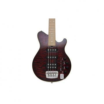Custom Music Man 25th Anniversary 4 String Electric Bass Guitar HSS W/ Quilt Maple Top