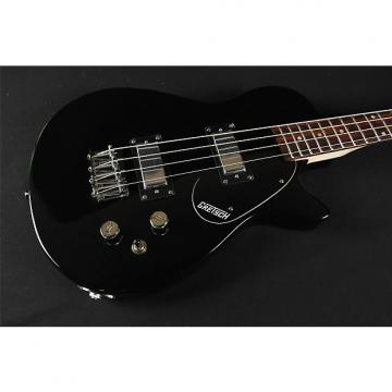 "Custom Gretsch G2220 Junior Jet Bass II Rosewood Fingerboard 30.3"" Scale - Black (314)"