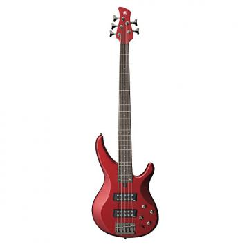 Custom Yamaha CA Red TRBX305 5-string Mahogany Body