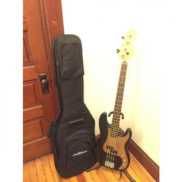 Custom Fender No Name PJ Bass w/ Case Black & Gold