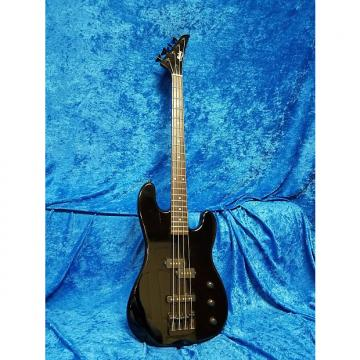 Custom Mako P-Bass 1980's Black P & J Style Pickups Super Cool 80's Hair Metal Jackson Made in Korea RARE!