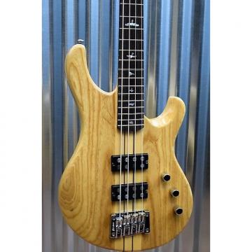 Custom PRS Paul Reed Smith SE Kingfisher Bass 4 String Natural & Gig Bag #4251