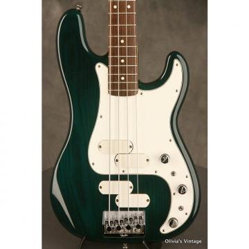 Custom Fender Elite II Precision P-Bass 1983 Transparent Emerald Green