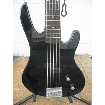 Custom Washburn Bantam Series XB 105 5 string Bass W/ Gig Bag Black