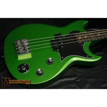 Custom Reverend Mike Watt Signature Wattplower Bass 2017 Satin Emerald Green