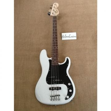 Custom Squier Affinity Precision PJ Bass 2016 Gloss Olympic White