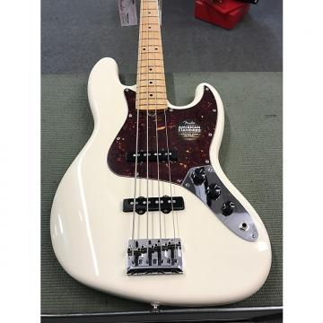 Custom Fender American Standard Jazz Bass Olympic White