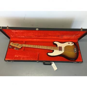 Custom Vintage Fender Telecaster Bass 1975 sunburst
