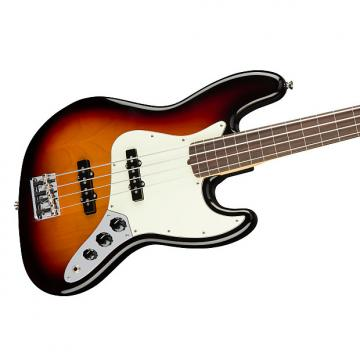 Custom Fender American Professional Fretless Jazz Bass, 3-Tone Sunburst, Rosewood Board - 0194100700