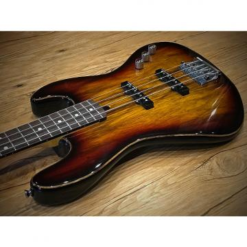 "Custom Warmoth/Copperline Custom Medium Scale Bass 32"" 2014 Sunburst"