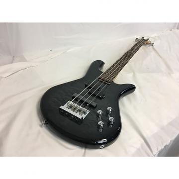 Custom New Spector LG4STDBKSG Bass W/Gig Bag Quilt Top Black