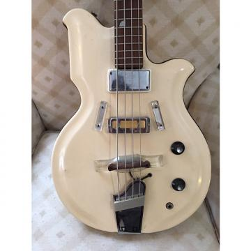 Custom Airline Map Bass 1950's White
