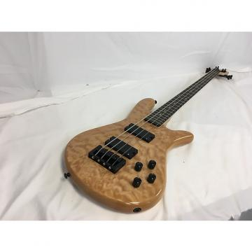 Custom New Spector LG4CLSNAT Bass W/Gig Bag Natural