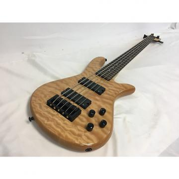 Custom New Spector Legend 5 Classic Natural w/Gig Bag