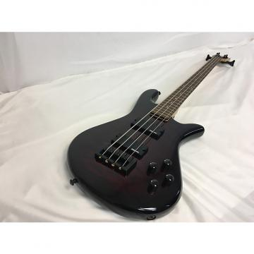 Custom New Spector LG4CLSBC Bass W/Gig Bag Quilt Top Red