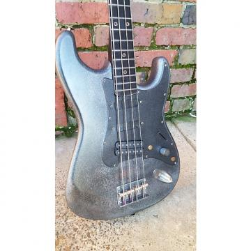 Custom Custom Build Rat Rod/Chop Shop Short Scale Bass/Djentstick, StageSweeper etc... 2017 Aged Iron Satin