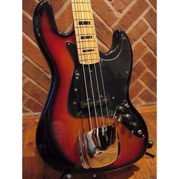 Custom Vintage Japanese Franconia Branded J/Bass. Full Scale Vintage Suburst