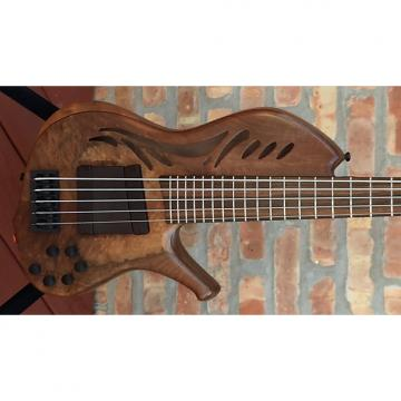 Custom Kenneth Lawrence ChamberBrase II 5 string bass guitar 2016 Natural Matte