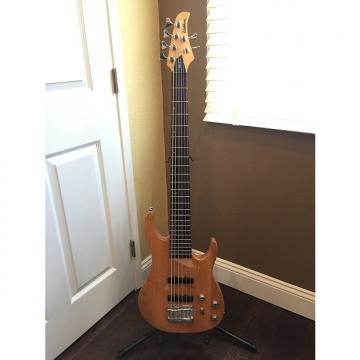 Custom Washburn MB-6 Natural 6 String Bass Guitar