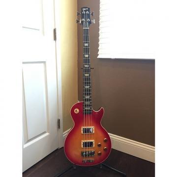 Custom Gibson Les Paul Bass Guitar 2003 Cherry Sunburst