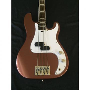 Custom Dan Lakin Dan Lakin Bob Glaub 4 String Bass Burgundy Mist 2016 Burgundy Mist
