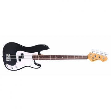 Custom Encore Blaster E4 Black Bass Guitar