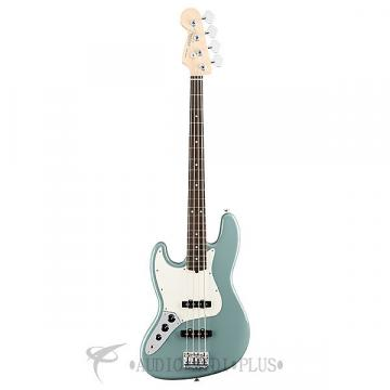 Custom Fender American Pro Jazz Rosewood FB LH 4 String Electric Bass Guitar Sonic Gray - 0193920748