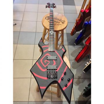 "Custom NOS B.C.Rich Warlock Simen ""Vortex"" Hestnæs signature bass."
