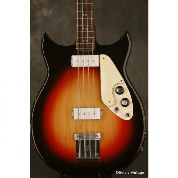 Custom Micro-Frets Signature Bass early 1970's Sunburst