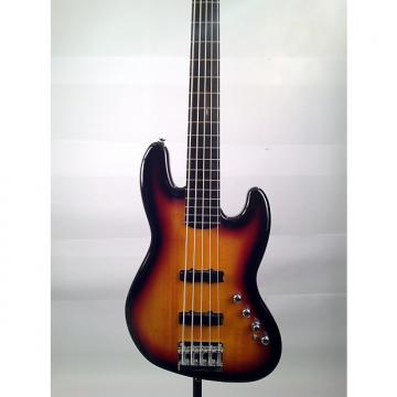 Custom Squier Deluxe Jazz Bass Active V 5-String