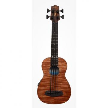 Custom Kala UBASS-EM-FS Exotic Mahogany Acoustic-Electric U-Bass