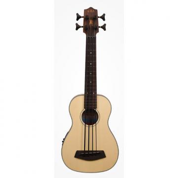 Custom Kala UBASS-SSMHG-FL w/Bag Solid Spruce Top Mahogany Fretless U-Bass