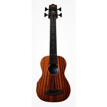 Custom Kala UBASS-SMHG-FL w/Case Solid Mahogany Fretless Acoustic-Electric U-Bass