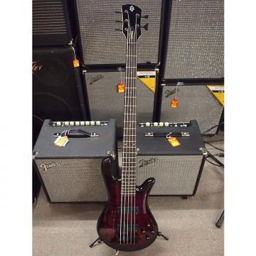 Custom Spector Legend 5 Classic 5-String Bass Black Cherry
