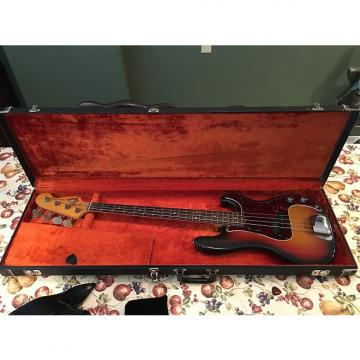 Custom Fender Precision Bass 1972 3-Color Sunburst w/ Rosewood Fretboard