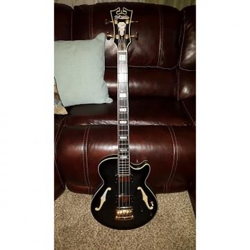 Custom D'Angelico Excel Bass 2010 Grey / Black