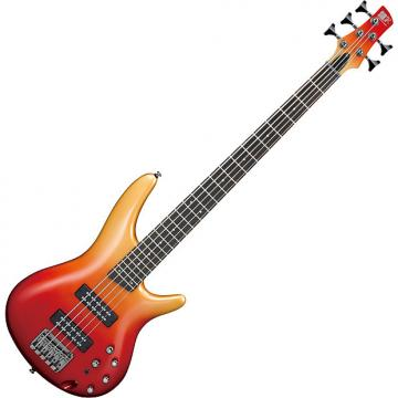 Custom Ibanez SR Standard SR305E 5 String Electric Bass Autumn Fade Metallic