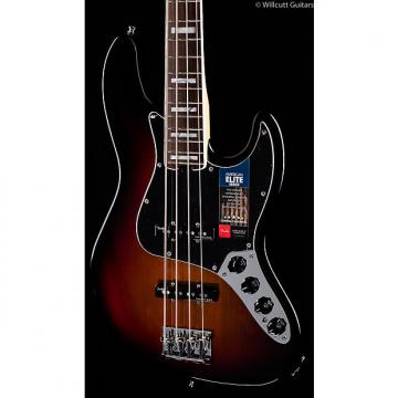 Custom Fender American Elite Jazz Bass 3-Tone Sunburst (285)