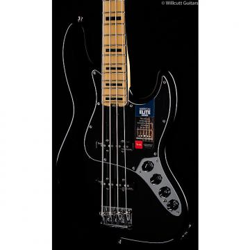 Custom Fender American Elite Jazz Bass Black (396)