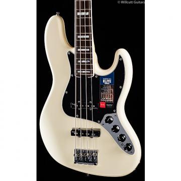 Custom Fender American Elite Jazz Bass Olympic White (199)