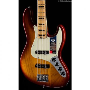 Custom Fender American Elite Jazz Bass Tobacco Sunburst (502)